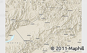 Shaded Relief Map of Yanqing