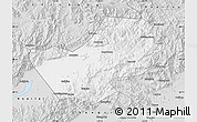 Silver Style Map of Yanqing