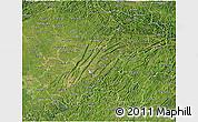 Satellite 3D Map of Chongqing