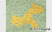 Savanna Style 3D Map of Chongqing