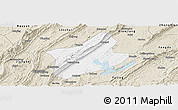 Classic Style Panoramic Map of Changshou