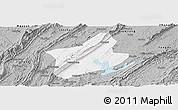 Gray Panoramic Map of Changshou