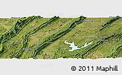 Satellite Panoramic Map of Changshou