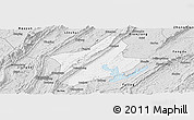 Silver Style Panoramic Map of Changshou