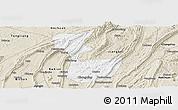 Classic Style Panoramic Map of Chongqing Shiqu