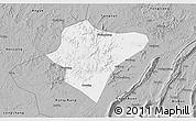 Gray 3D Map of Dazu