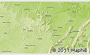 Physical 3D Map of Dazu