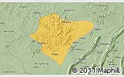 Savanna Style 3D Map of Dazu