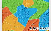 Political Map of Dazu