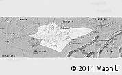 Gray Panoramic Map of Dazu
