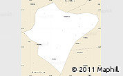 Classic Style Simple Map of Dazu