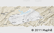 Classic Style Panoramic Map of Fuling