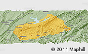 Savanna Style Panoramic Map of Fuling