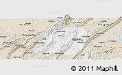 Classic Style Panoramic Map of Jiangbei