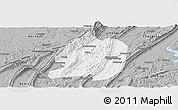 Gray Panoramic Map of Jiangbei