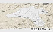 Classic Style Panoramic Map of Jiangjin
