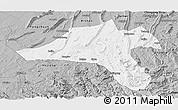 Gray Panoramic Map of Jiangjin