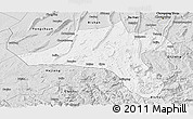 Silver Style Panoramic Map of Jiangjin