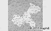 Gray Map of Chongqing
