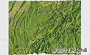 Satellite 3D Map of Nanchuan
