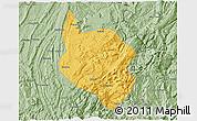 Savanna Style 3D Map of Nanchuan