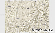 Shaded Relief 3D Map of Nanchuan