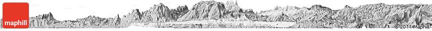 Gray Horizon Map of Nanchuan