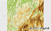 Physical Map of Nanchuan
