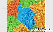 Political Map of Nanchuan