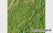 Satellite Map of Nanchuan