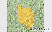 Savanna Style Map of Nanchuan