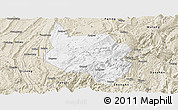 Classic Style Panoramic Map of Nanchuan