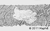 Gray Panoramic Map of Nanchuan