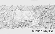 Silver Style Panoramic Map of Nanchuan