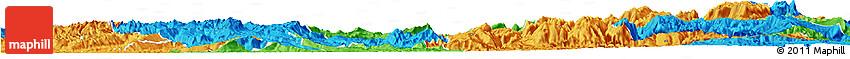 Political Horizon Map of Qijiang