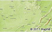 Physical 3D Map of Rongchang