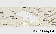 Classic Style Panoramic Map of Rongchang