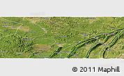 Satellite Panoramic Map of Tongliang