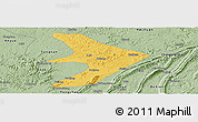 Savanna Style Panoramic Map of Tongliang