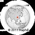 Outline Map of Wanxian Shi