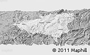 Gray Panoramic Map of Wulong