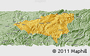 Savanna Style Panoramic Map of Wulong