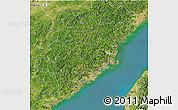 Satellite 3D Map of Fujian