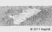 Gray Panoramic Map of Guangze