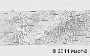 Silver Style Panoramic Map of Guangze