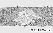Gray Panoramic Map of Jiangle