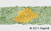 Savanna Style Panoramic Map of Jiangle