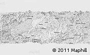 Silver Style Panoramic Map of Jiangle