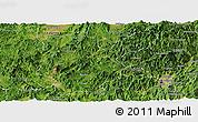 Satellite Panoramic Map of Shanghang