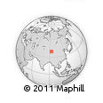 Outline Map of Aksay